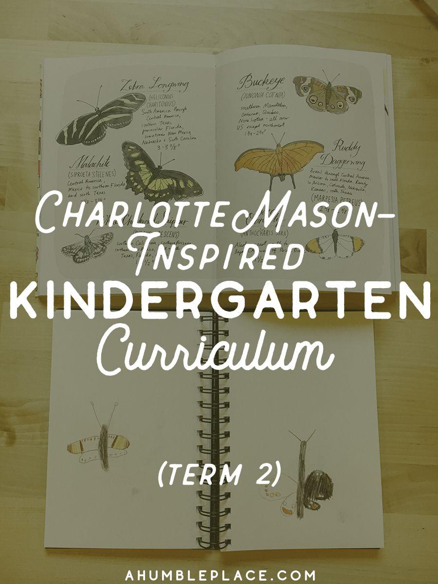 Charlotte Mason Kindergarten Curriculum
