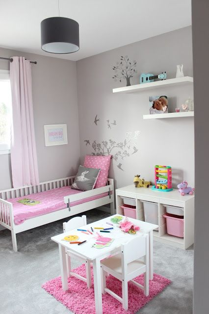 Chambre de petite fille | girls bedroom | Kids room, Little girl ...