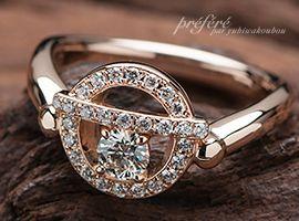 婚約指輪はドラえもんの鈴をモチーフにお創りしました