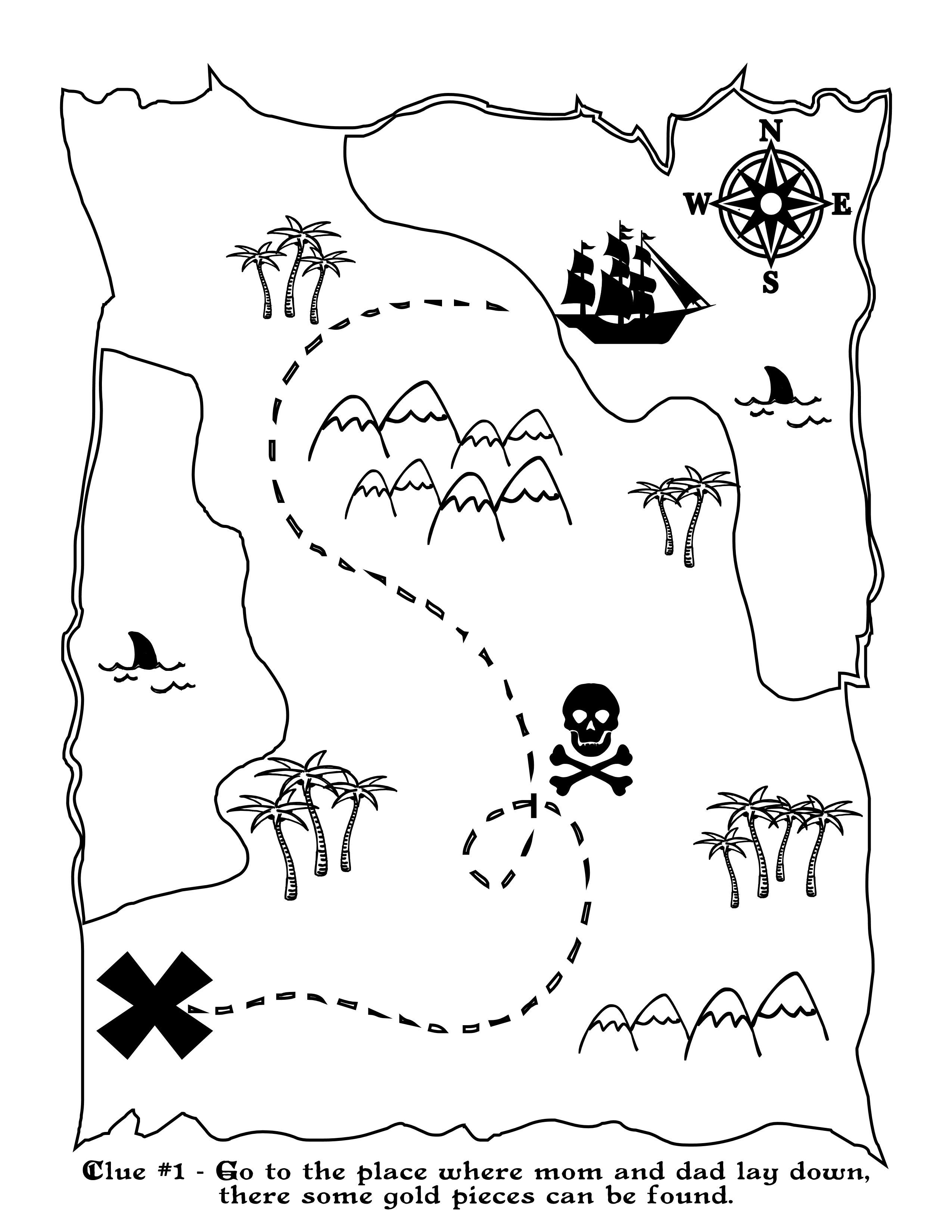 graphic relating to Printable Treasure Map named Printable Treasure Map Small children Recreation Lesson application Programs