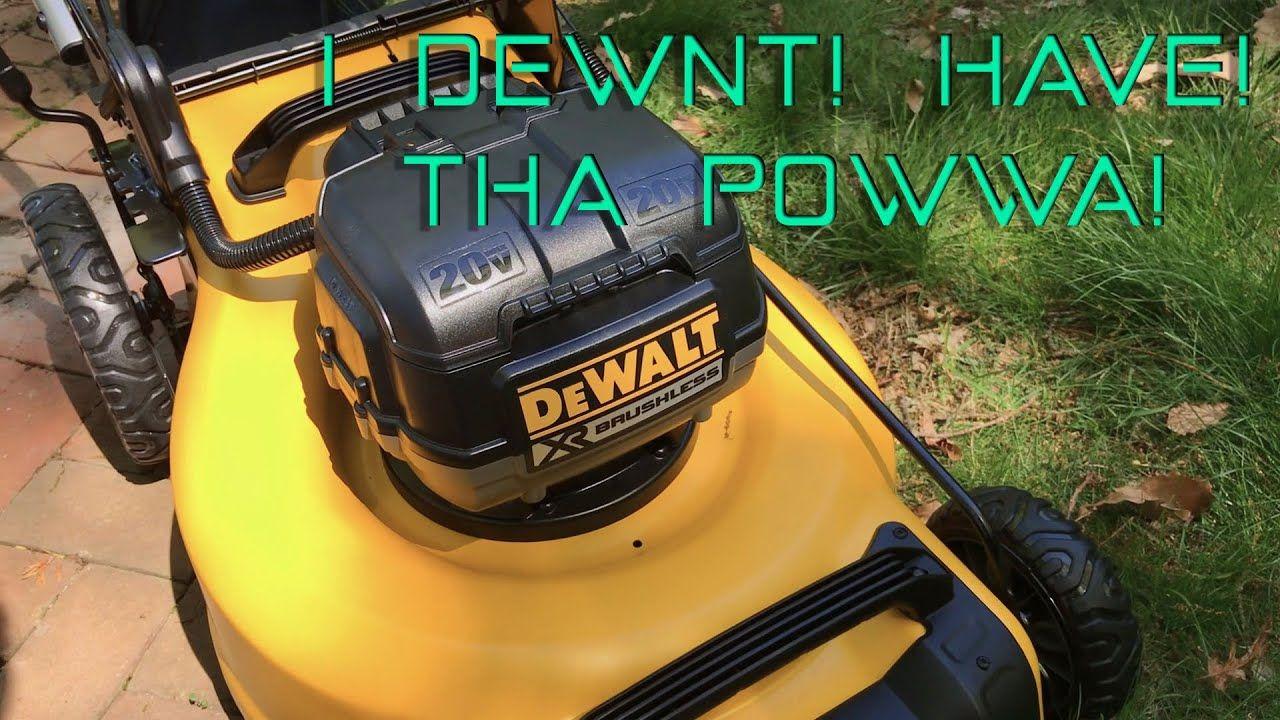 Swbah Unbox 3 Dewalt 2x20v Max Xr Mower Unboxing Mower Dewalt