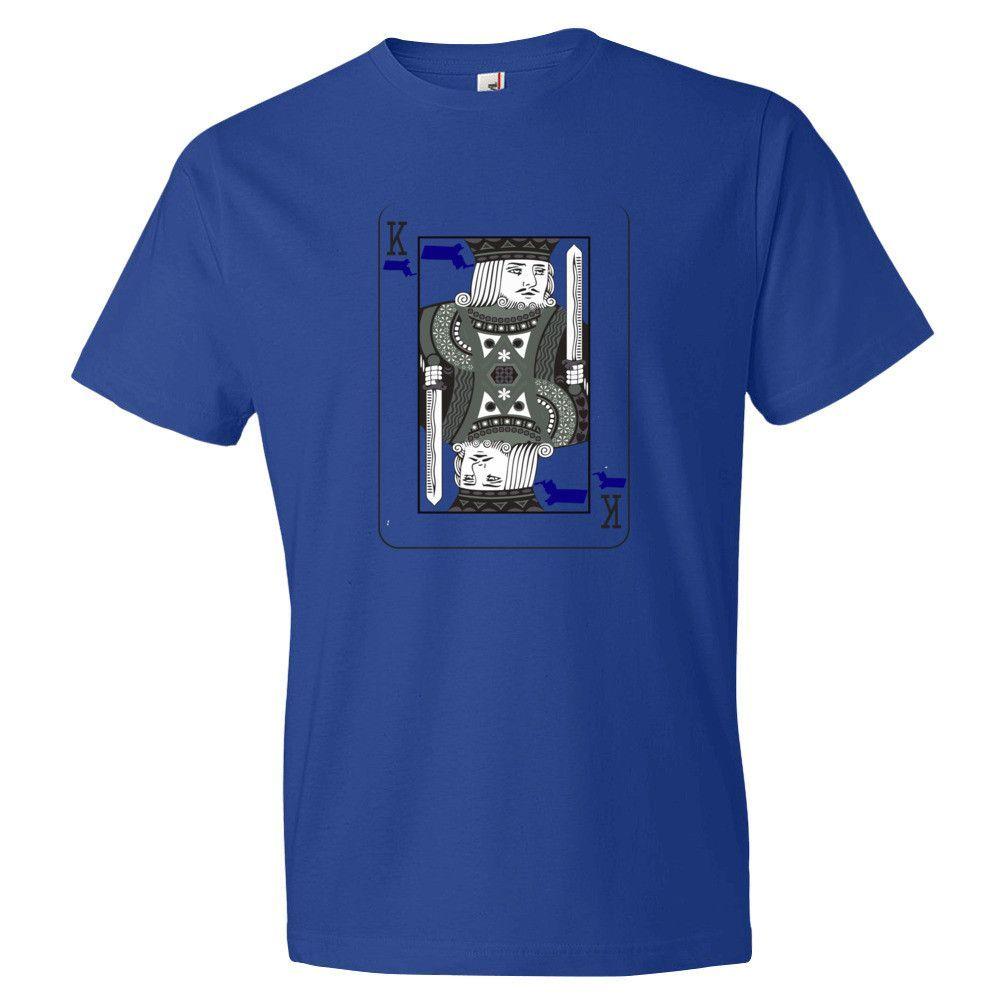 King of Massachusetts t-shirt