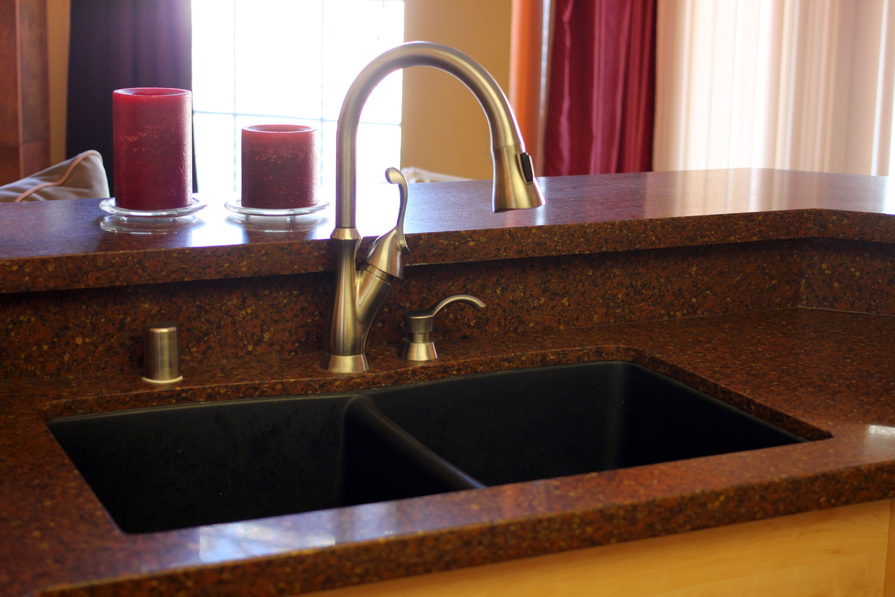 How To Clean Badly Etched Old Bathroom Sinks Composite Sinks