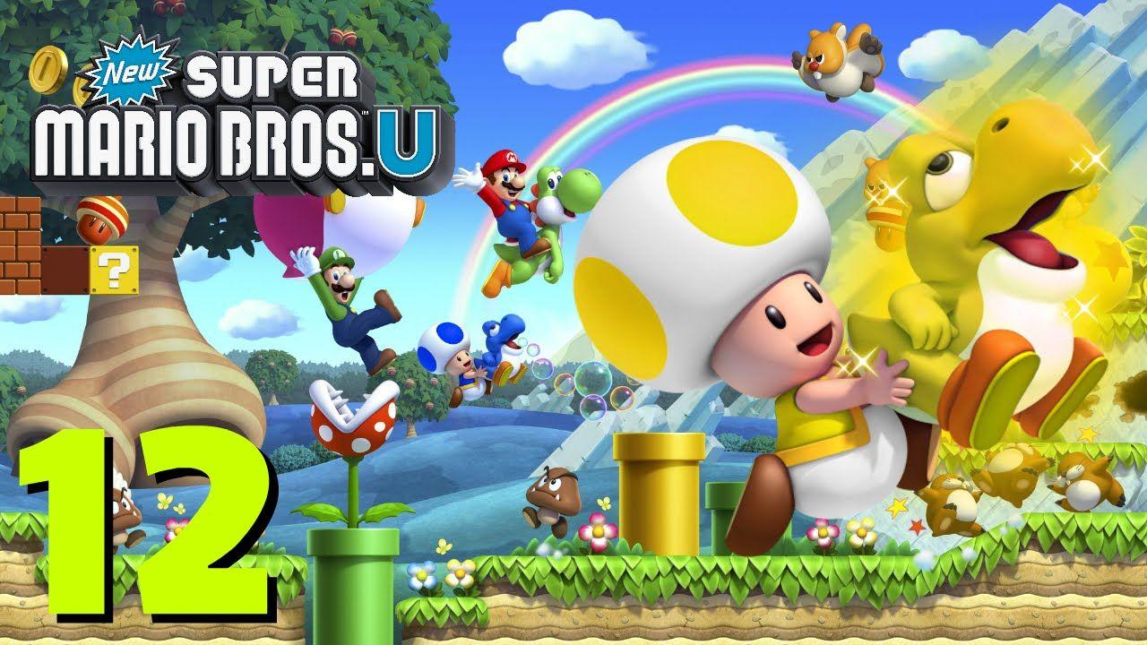 New Super Mario Bros  U Let's Play Part 12 - World 2-3