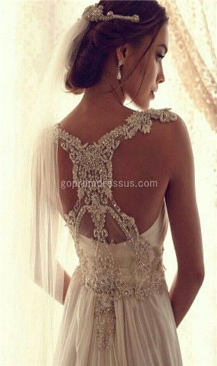 vintage wedding dress-  This does not look vintage.  Beautiful.  ♥♥♥
