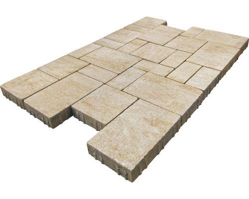 Pavé iWay Trend grès antique multi-format épaisseur 6 cm (disponible - epaisseur dalle beton maison