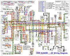 electrical switch wiring diagram kawasaki klr650 color wiring rh pinterest co uk Kawasaki Wiring Schematics 2008 kawasaki klr 650 wiring diagram