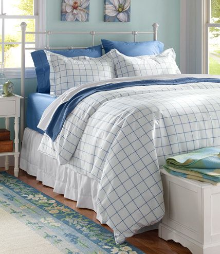 280 Thread Count Pima Cotton Percale Comforter Cover Collection