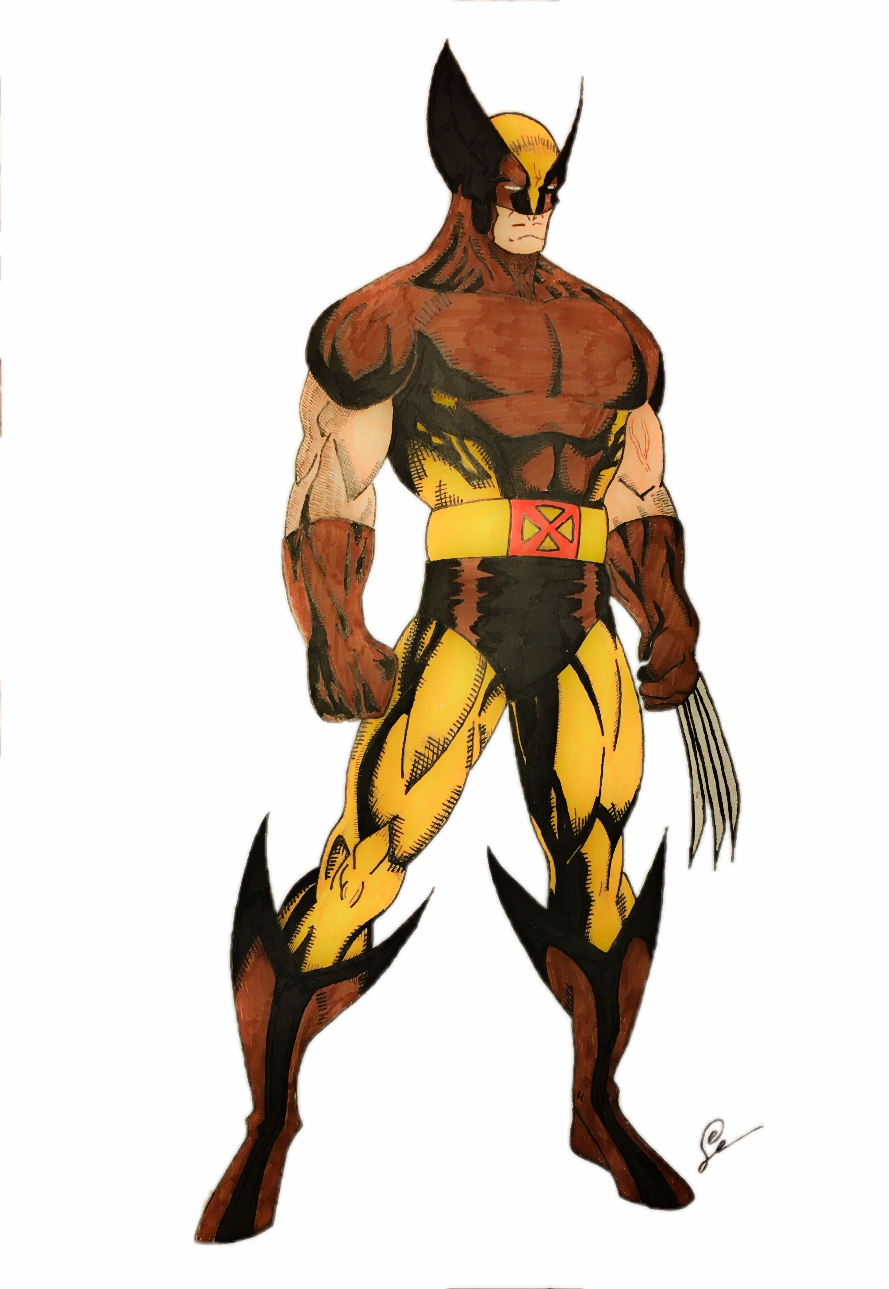 c95659b34a6 Classic Wolverine   art   Wolverine art, Marvel tattoos, Wolverine