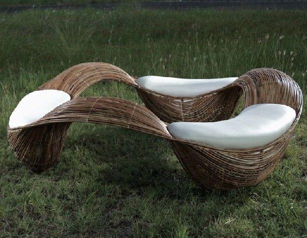 Organic Outdoor Furniture By Filipino Designer Vito Selma