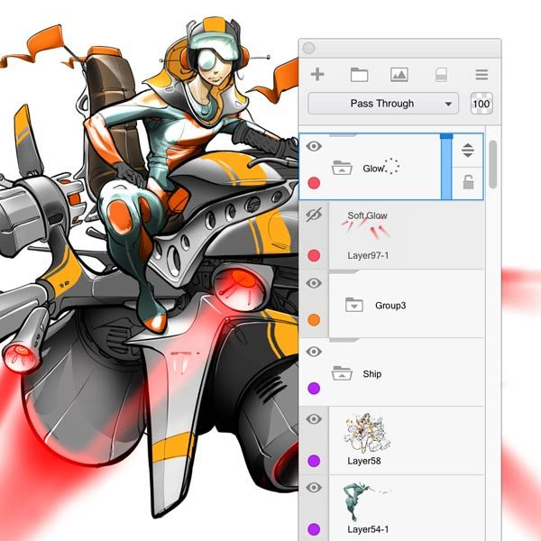 Drawing Software For Concept Design Comic Art And Digital Sketching Sketch Book Sketchbook Pro Autodesk