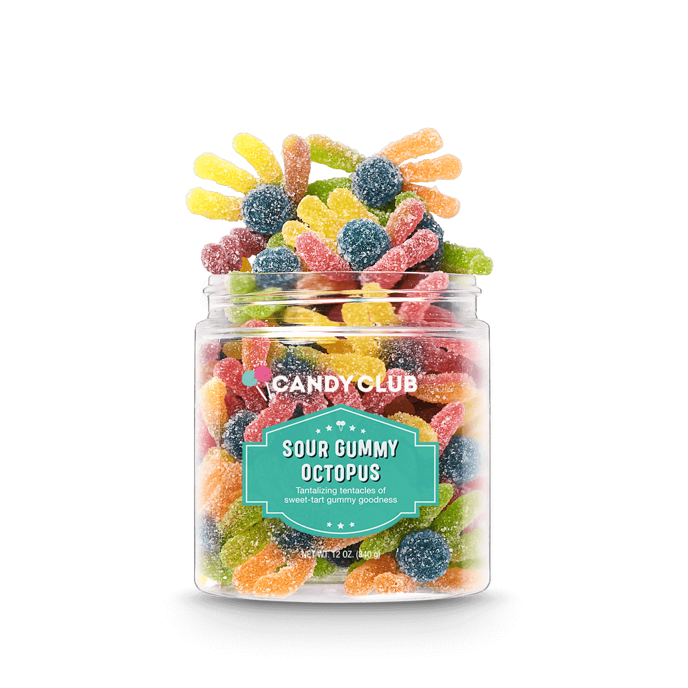 Photo of Candy Club – Sour Gummy Octopus