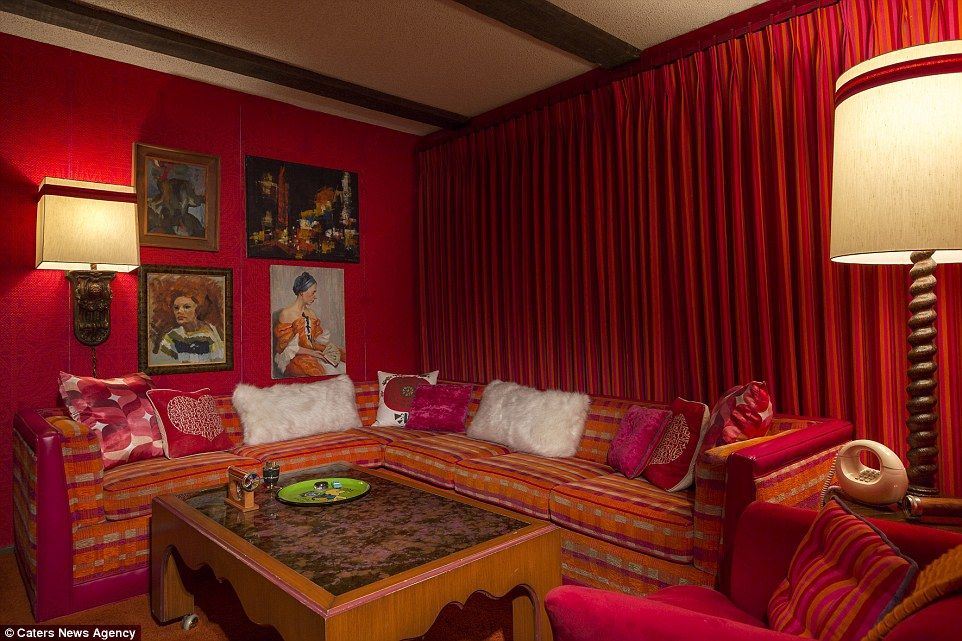 House covered from floor to ceiling in velvet on sale for $900,000