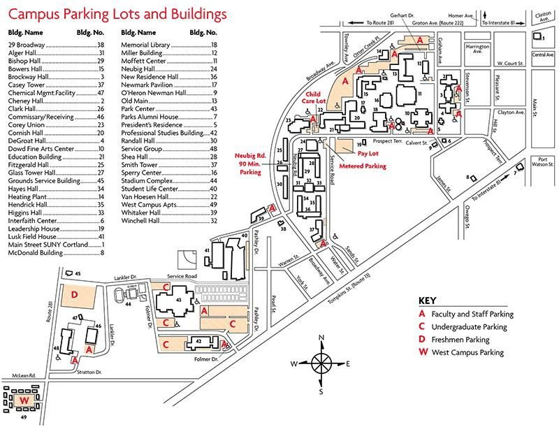 Map   SUNY Cortland | College | Pinterest | Map, University and