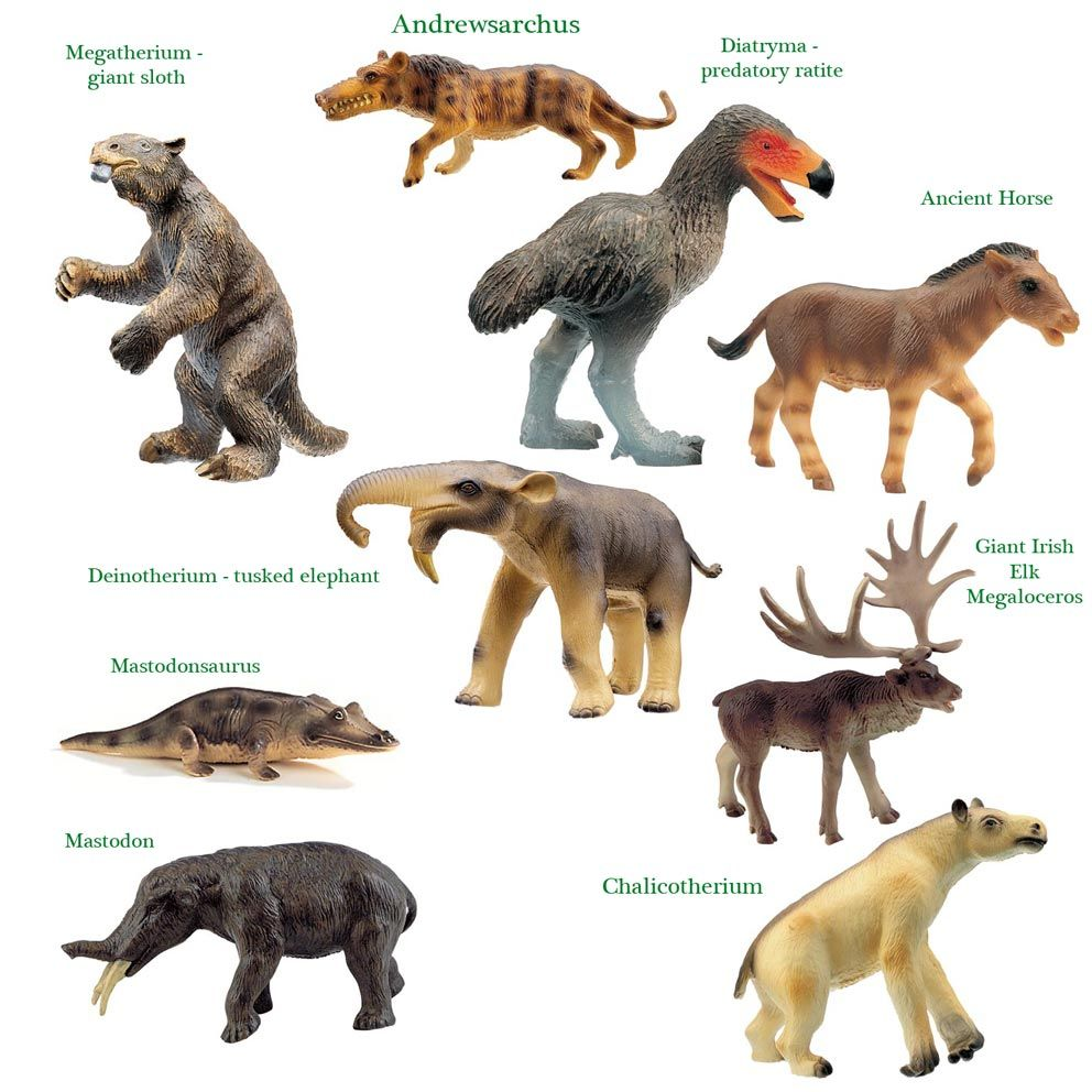 Bullyland Prehistoric Animal Models Prehistoric animals