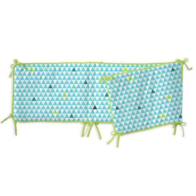 Le tour de lit b b p 39 ti poisson bleu apportera confort et - Comment mettre le tour de lit ...