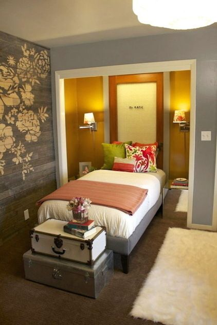 Room Of The Day A Guest Room Like No Other Bed Nook Bedroom Nook Small Bedroom Remodel
