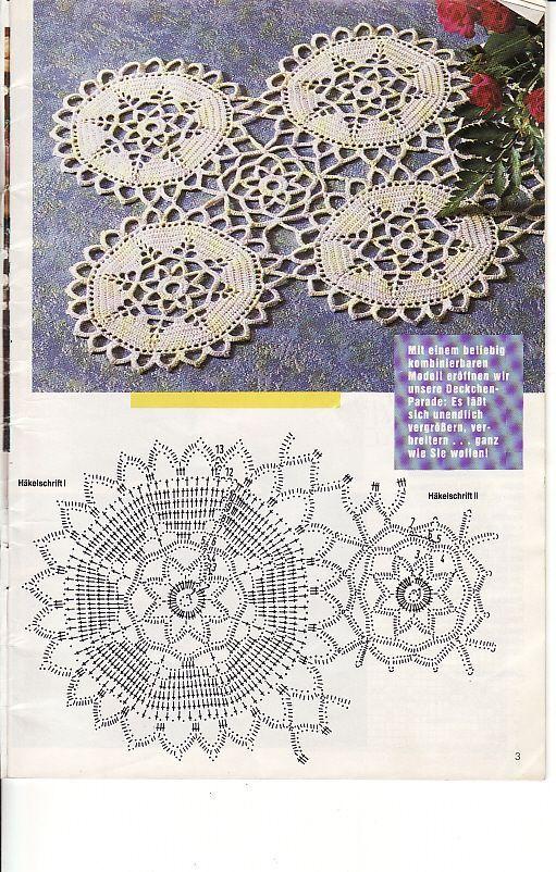 Diana crochet - diamondinapril - Picasa Webalbums | crochet doily ...