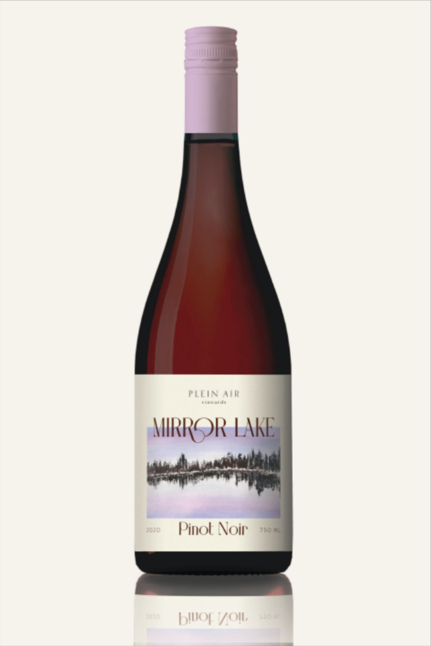Pinot Noir Label Design And Branding For Outdoor Inspired Wine Brand In 2020 Wine Bottle Label Design Label Design Wine Brands