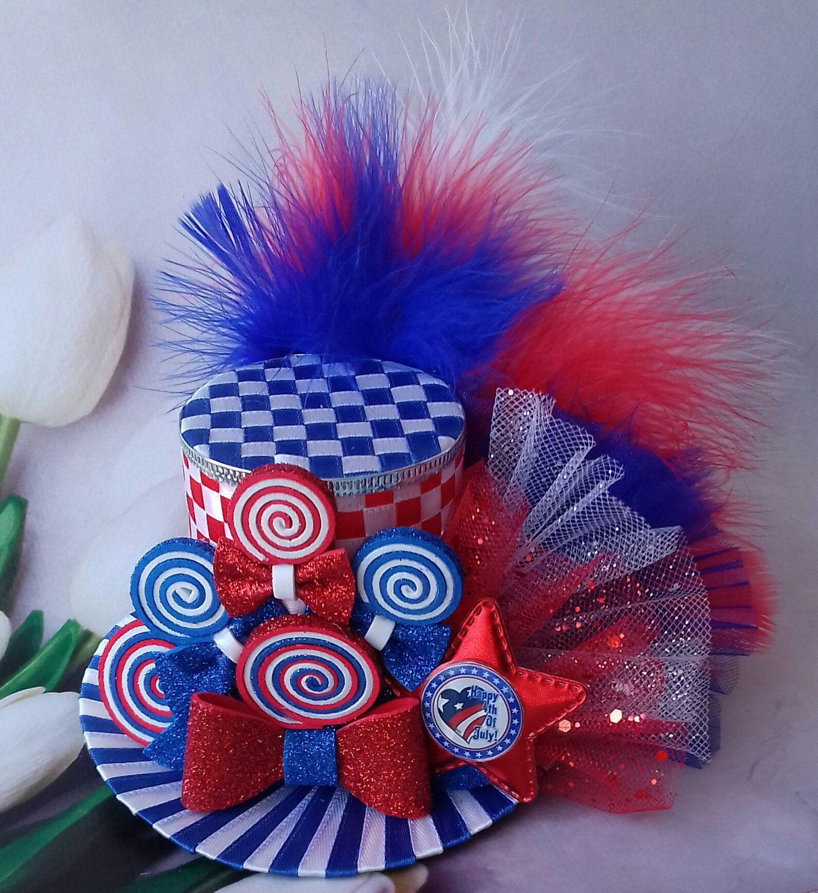 Patriotic Day Hat Headband USA