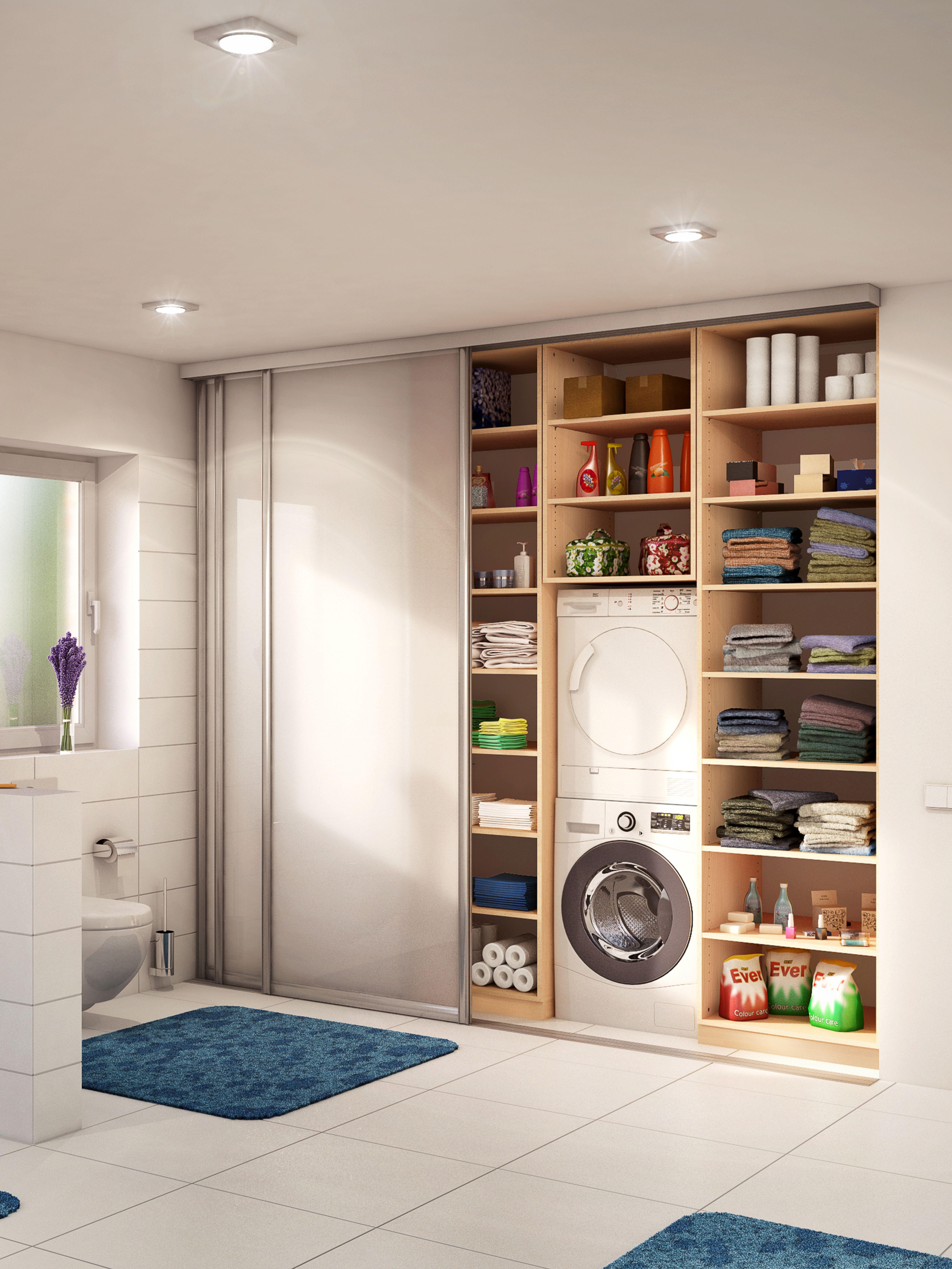 Badezimmer Nischenschrank Mit Schiebetüre Badezimmer Nischenschrank Regal Nach Maß