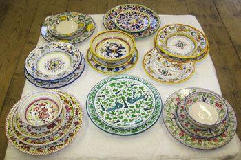 Italian Ceramic Dinnerware \u0026 Dinner Plates from Tuscany The Pottery Co. & Italian Ceramic Dinnerware \u0026 Dinner Plates from Tuscany The Pottery ...