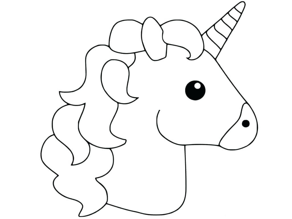 Printable Coloring Sheets For Unicorn Knutselen