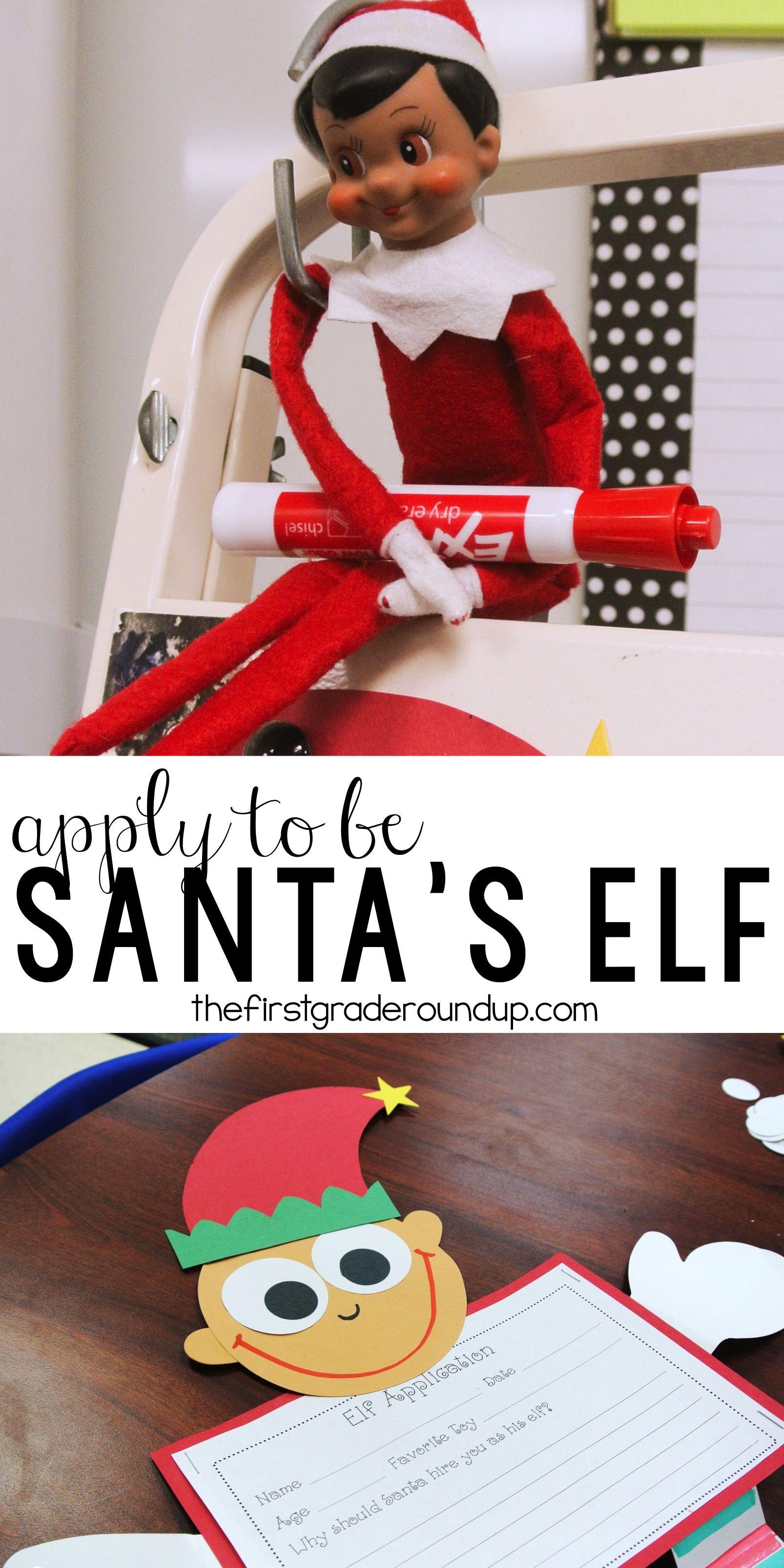 Classroom Elf Writing Packet