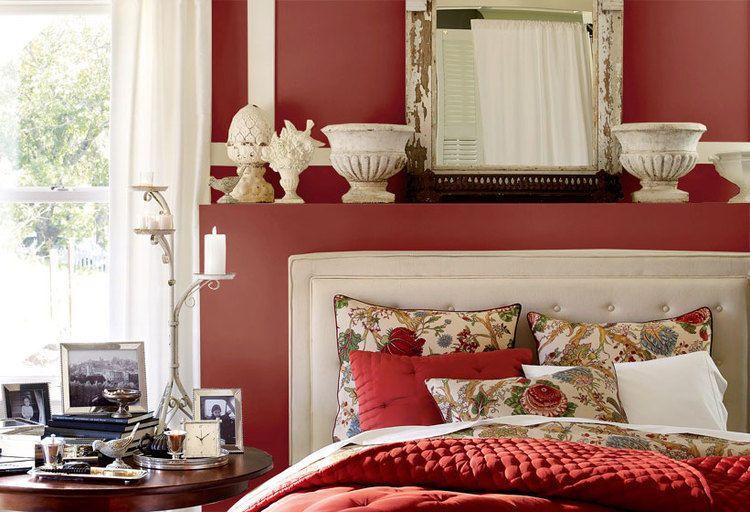 Pottery Barn Design Tips: Pretty Bedroom Wall Color