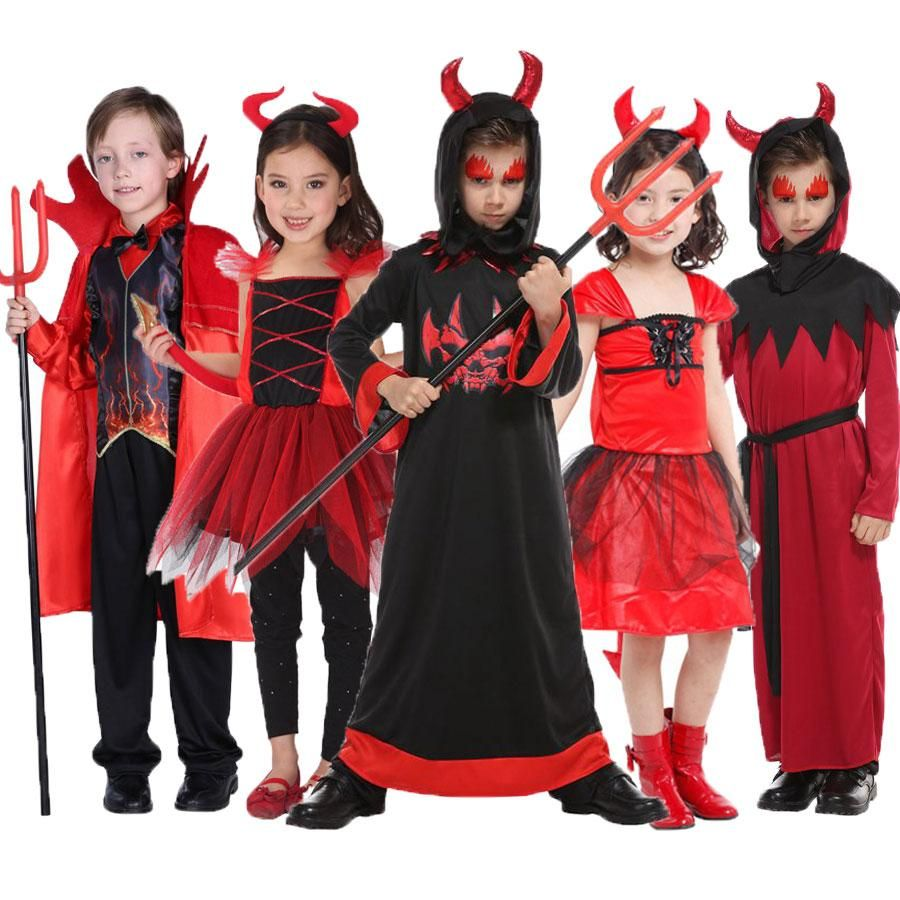 Halloween Adult Child Red Sequin Devil Headband Fancy Dress Costume Party Cute
