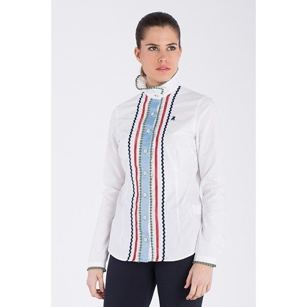 Mujer Tapeta Camisa Con Picunelas De Larga Jaca Ribera Manga La Moda 54j3ARLq
