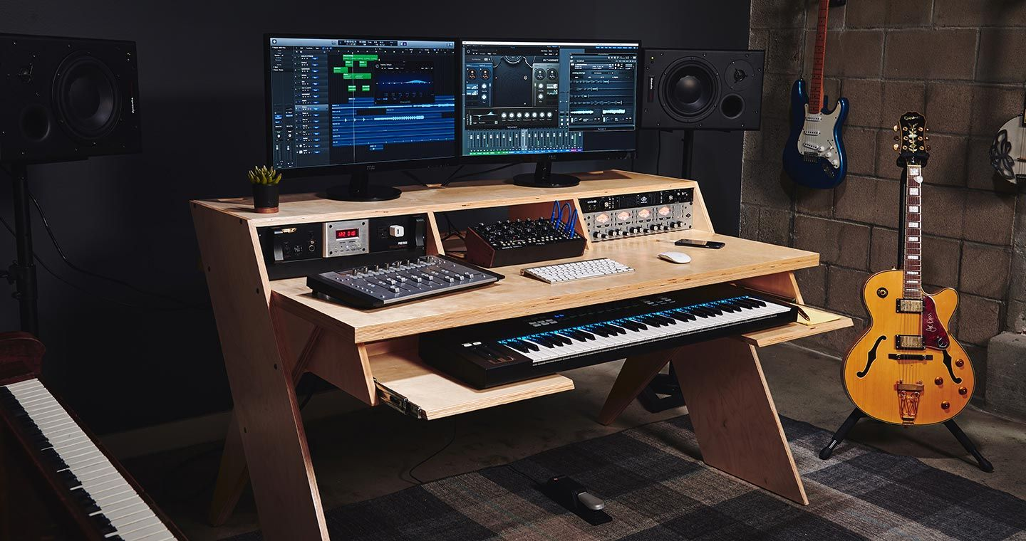 PLATFORM by Output A Desk For Musicians Natural With