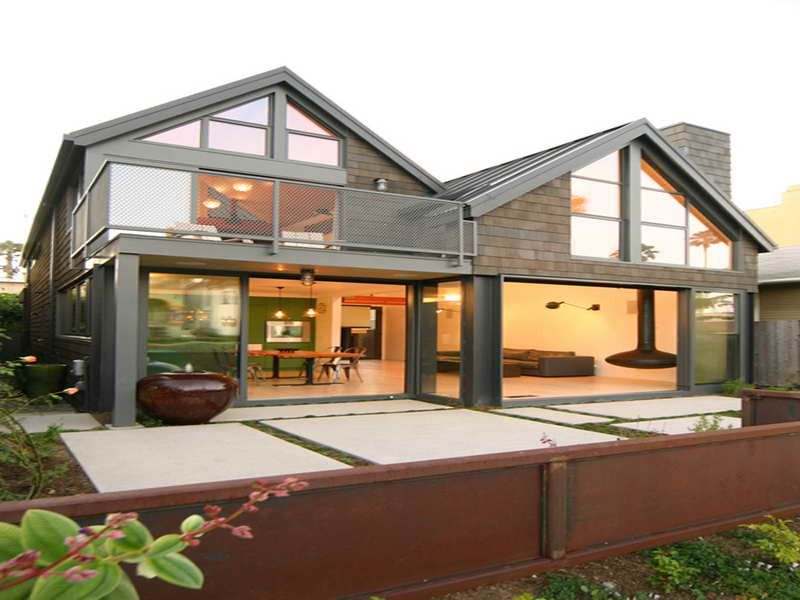 Metal buildings as homes metal building home ideas with for Modern steel house