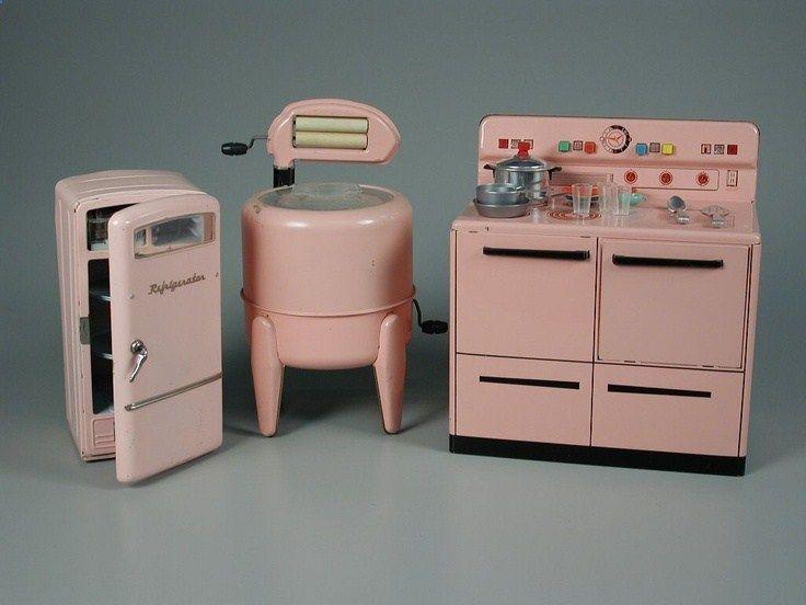 Wolverine Toy Kitchen Suite 1950 Toy Kitchen Antique Toys Vintage Toys