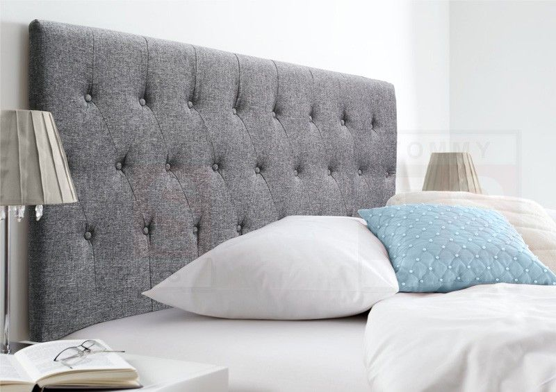 King Size Upholstered Fabric Bed Head - Florence Collection (Space ...