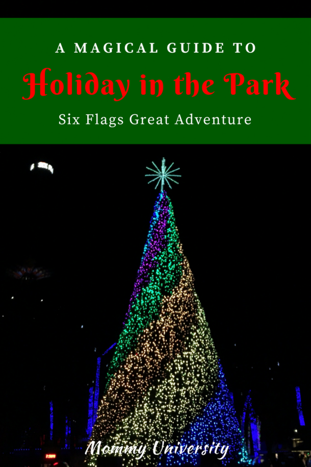 Holiday In The Park At Six Flags Great Adventure Six Flags Great Adventure Adventure Holiday Greatest Adventure