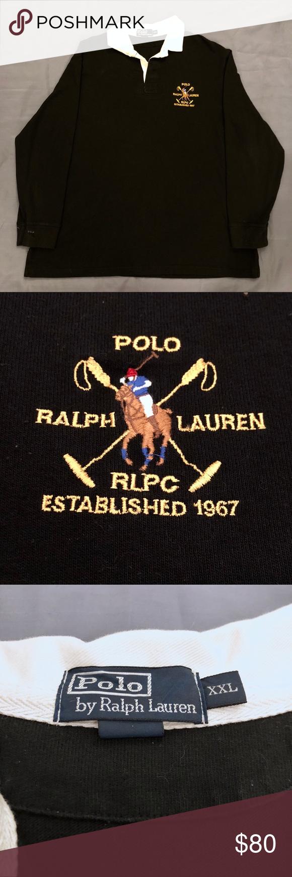Vintage Polo Ralph Lauren Longsleeve Shirt Long Sleeve Shirts Vintage Polo Polo Ralph Lauren