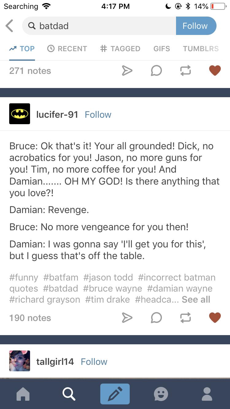 Grounding the Batboys | Headcanons❤ | Batman family, Marvel dc