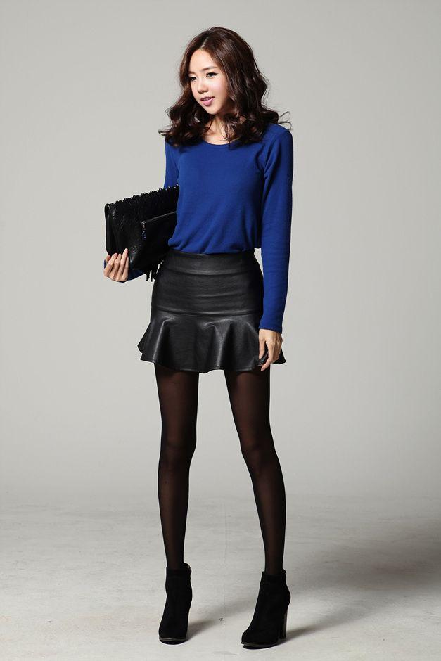 Cozy Overisized Knit Royal Blue Cardigan @ Cicihot ... |Japanese Blue Sweater Vest For Women