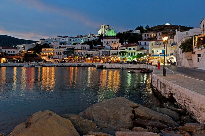 Andros, Cyclades, Greece.