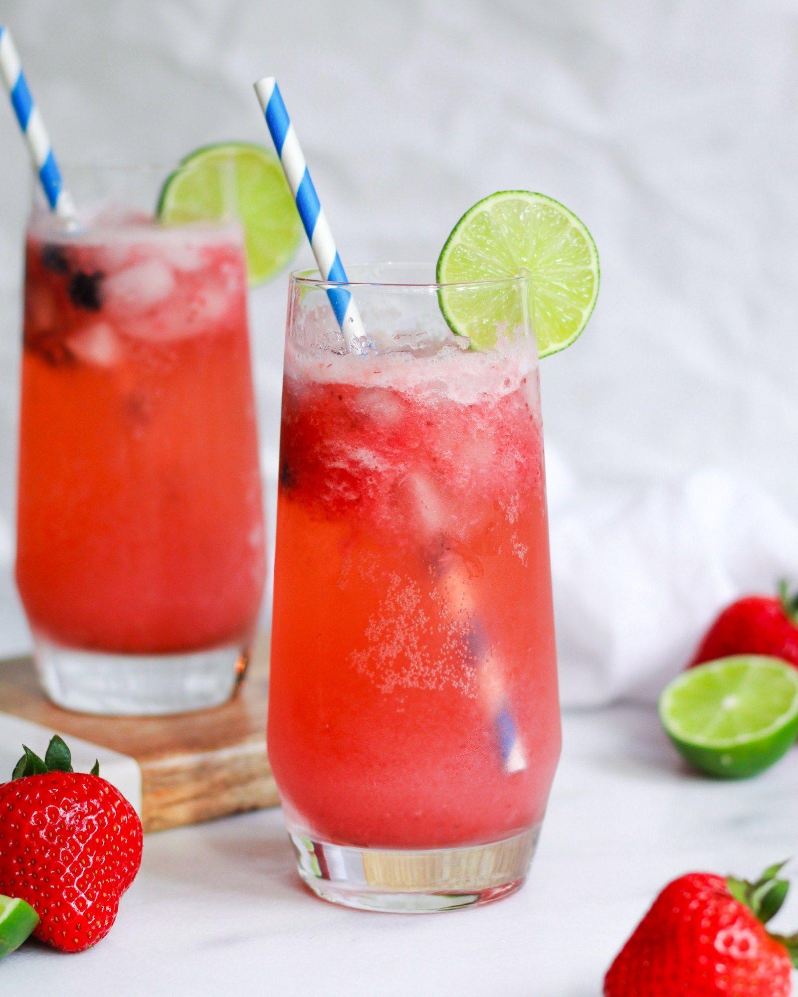 Easy Virgin Strawberry Margarita