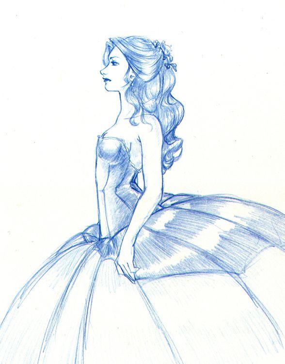 Cinderella   Drawing R...