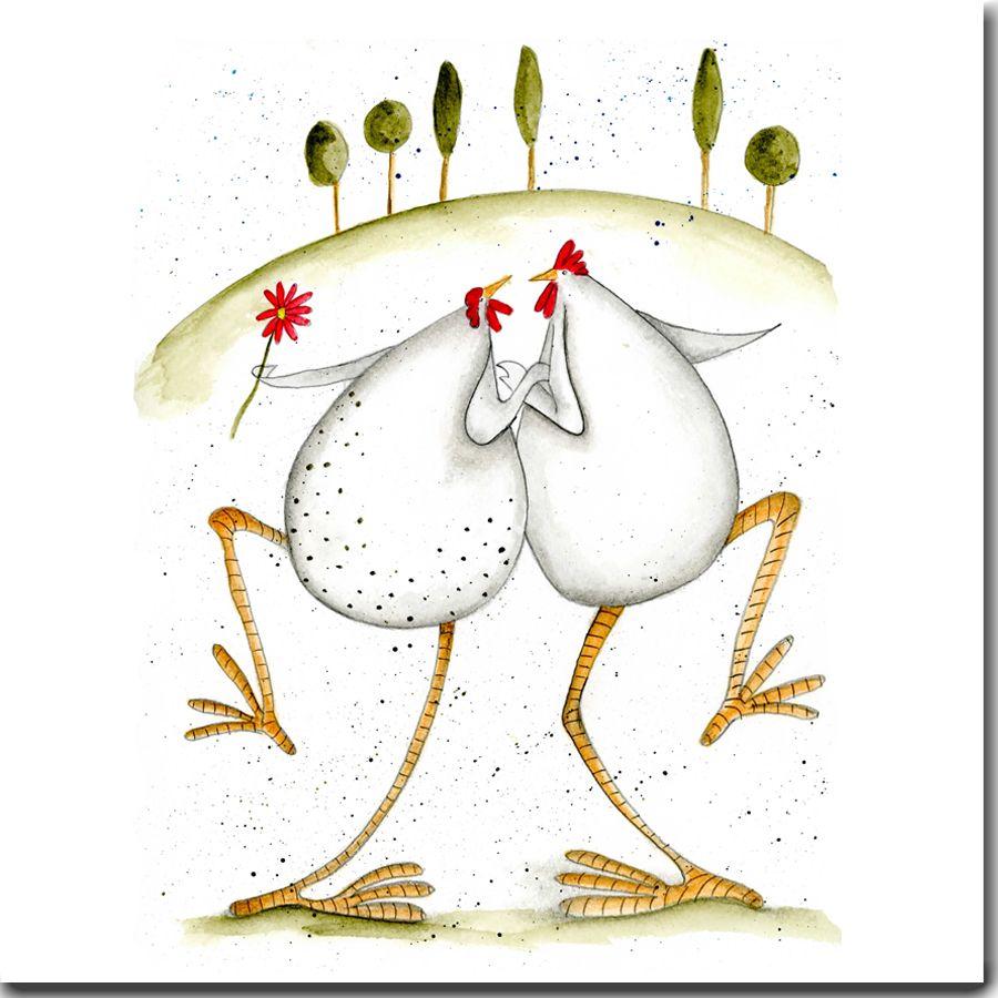 Dancing hens greeting card theskinnycardcompany cute dancing hens greeting card theskinnycardcompany kristyandbryce Gallery