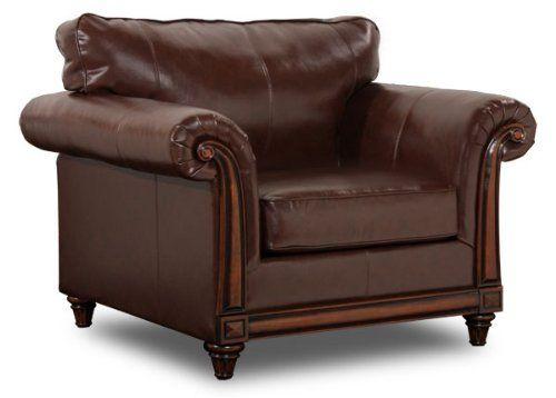 Sale Simmons San Diego Coffee Leather Chair Home