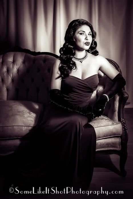 Old Hollywood Glamour Photo Shoot Ideas