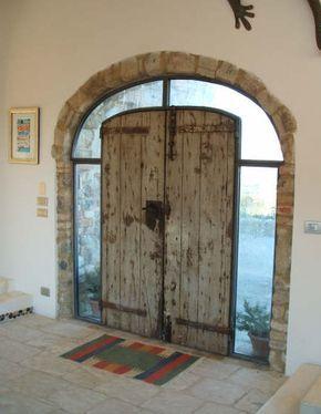 Bel recupero di una porta antica case pinterest for Idee portico coloniale