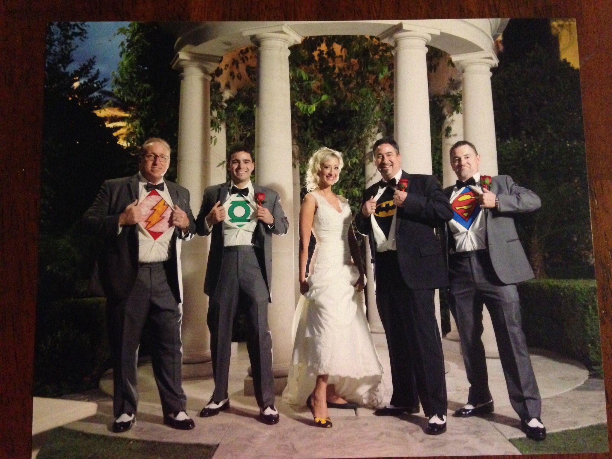 Our Superhero Wedding May 2014 in Vegas at Caesars Palace