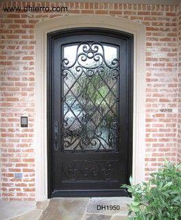 Iron Doors - Exterior - eclectic - front doors - dallas - D\'Hierro ...