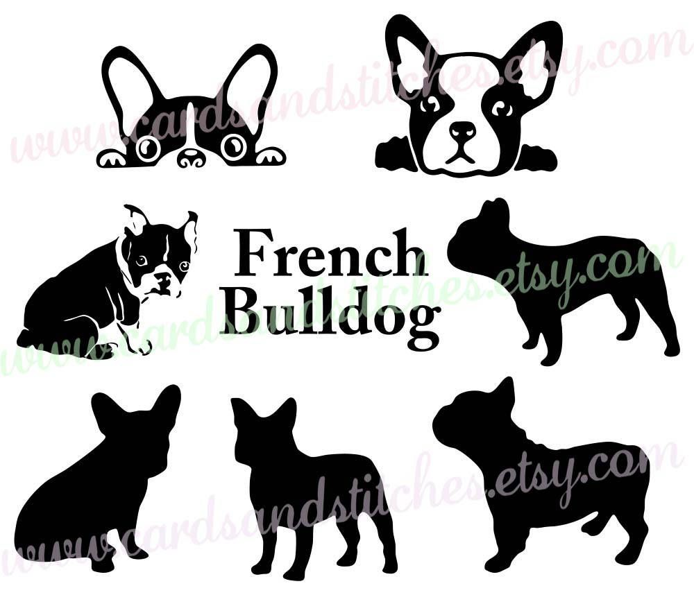 French Bulldog Svg Bulldog Svg Bulldog Silhouettes Etsy Bulldog French Bulldog French Bulldog Art