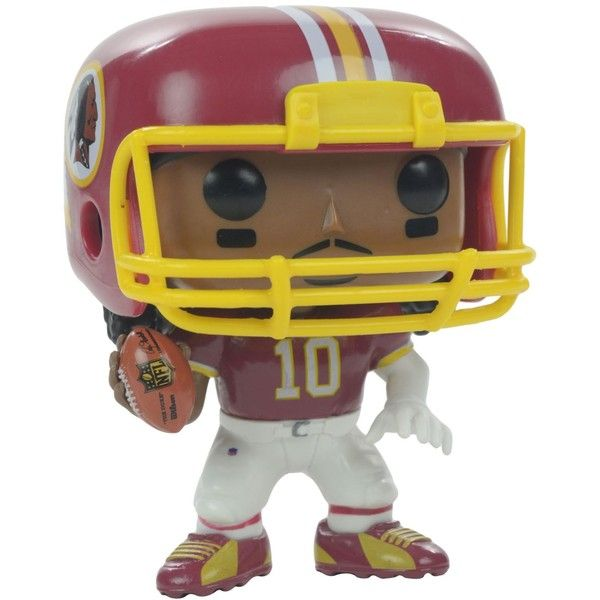 Funko Robert Griffin Iii Washington Redskins Figure ($10) ❤ liked on Polyvore featuring home, home decor, maroon and vinyl figure